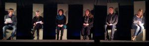 MRV Tesselschade spilet  'SORRY',  in stik skreaun troch Alan Ayckbourn
